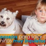 Consejos para lidiar con niños inquietos, 5 consejos para lidiar con niños muy inquietos
