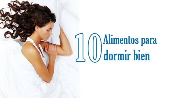 10 alimentos para dormir bien phronesis el arte de - Para dormir bien ...