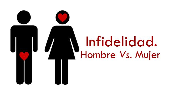Infidelidad. Mujer vs hombre