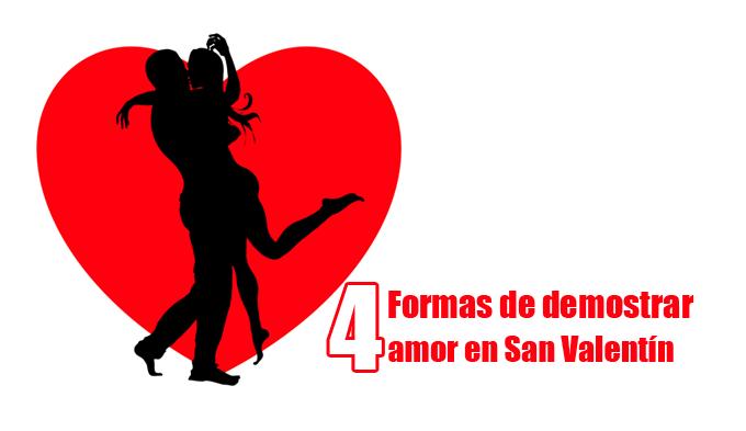 4 formas de demostrar amor en San Valentín