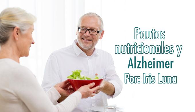 Pautas nutricionales y Alzhéimer