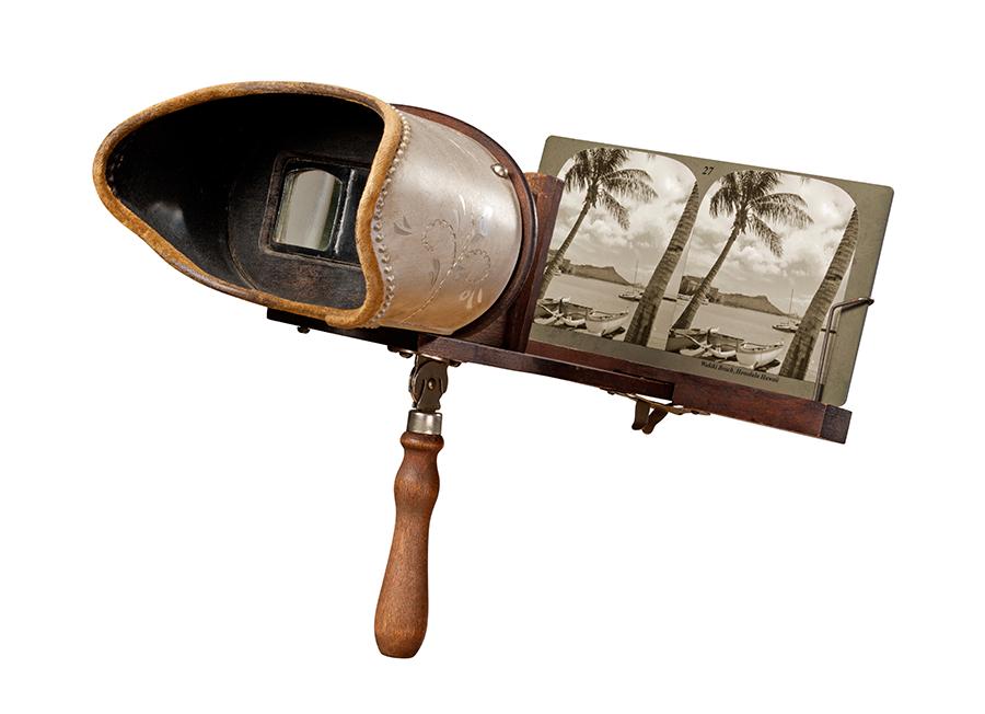 El estereoscopio fue el primer aparato de Realidad Virtual