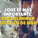 Ejercicio vs. Alimentación