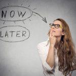 La demora en la acción-procastinación como disculpa