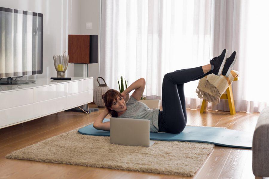 Ejercicios sencillos para realizar en casa